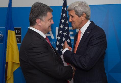 Ukraine under pressure