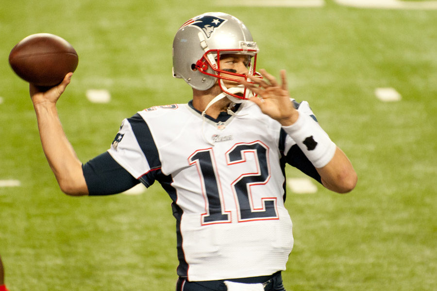 Two games into the season, Tom Brady ranks 23rd in the NFL Total Quarterback.