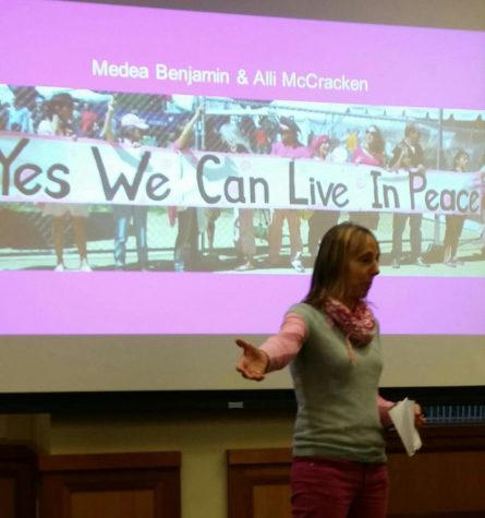 Challenging global militarism: Activist Medea Benjamin comes to Suffolk