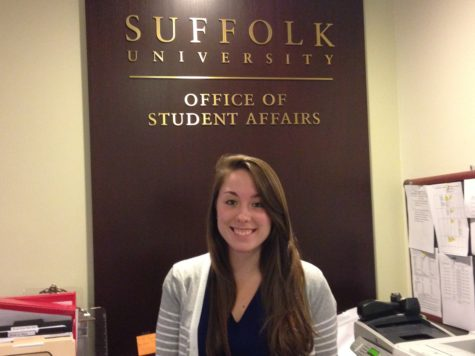 Suffolk alumna employed by Student Affairs after undergrad involvement