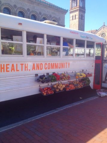 """""""Let's talk about food"""" festival takes over Copley"""