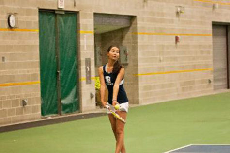 Aidiana Sagyndykova: GNAC Player of Year for women's tennis