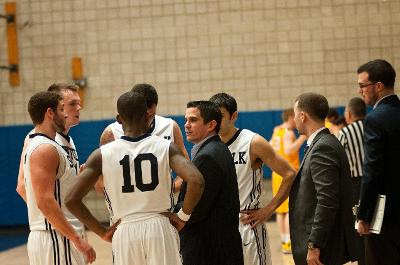 Season ends for men's basketball