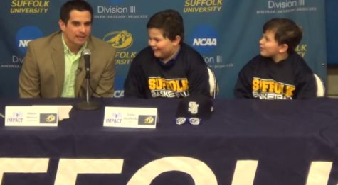 Team IMPACT helps men's basketball sign Cystic Fibrosis patient Luke Giuffrida