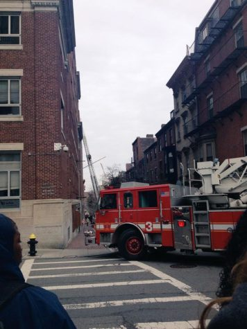 Problem with air unit and suspicious smell prompt evacuation of Donahue
