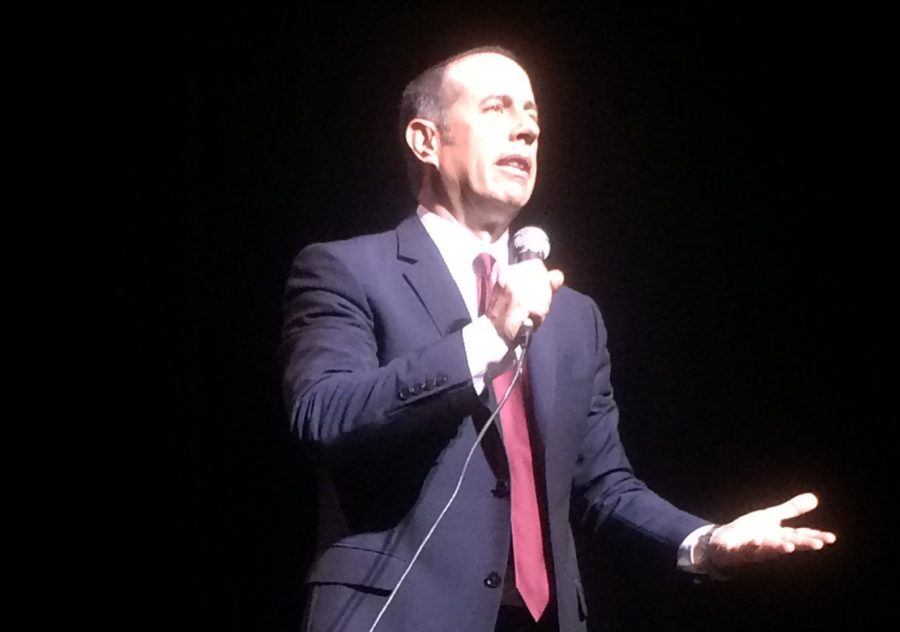 Laughter fills Wang Theatre for jester Jerry Seinfeld