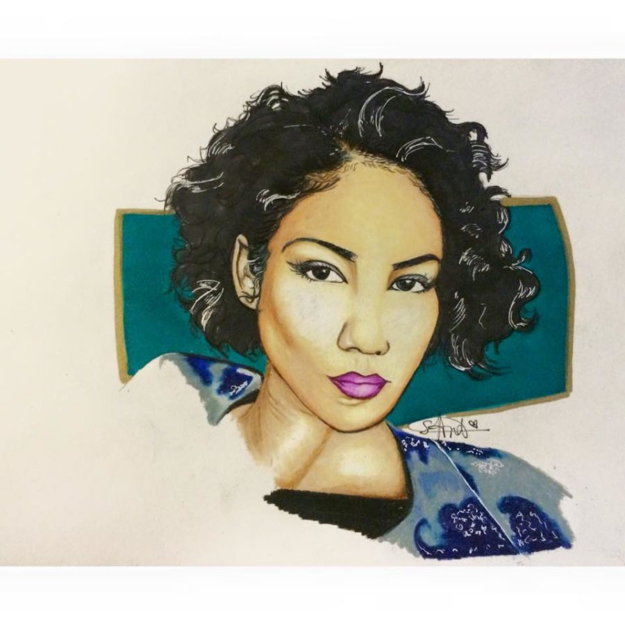 Self-taught artist discovers passion for portraiture