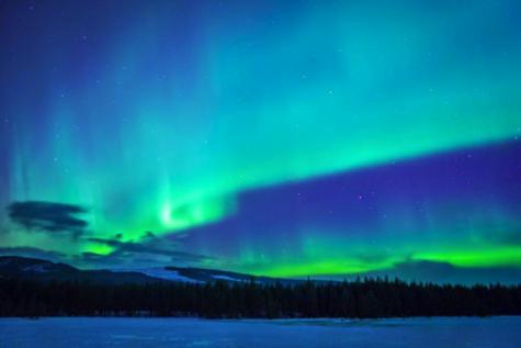 Student captures phenomenon in Arctic Circle