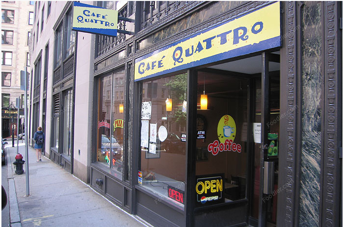 Cafe Quattro's old location next to Miller Hall File photo