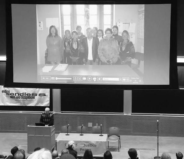 A photo of the event at MIT Alexa Gagosz/Journal Staff