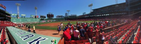 Fans at Fenway Park. By Flickr user Patrick.