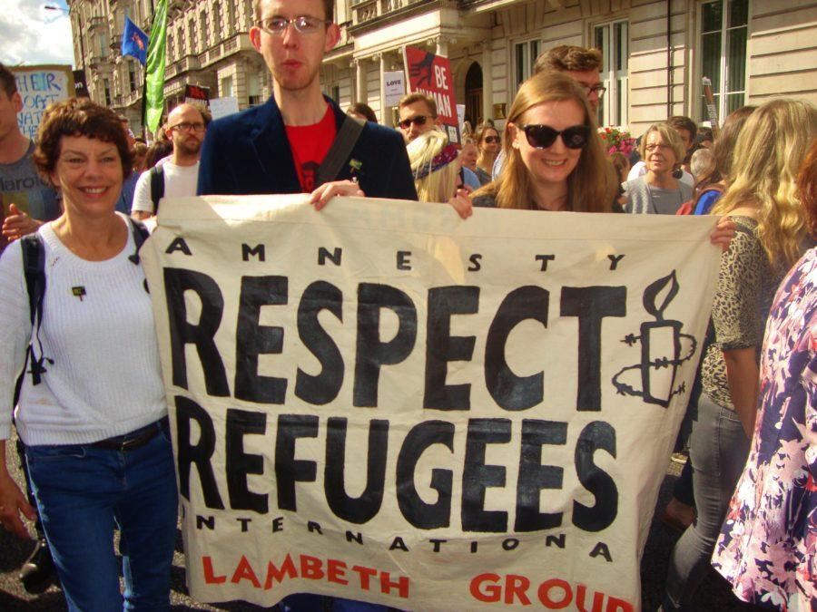 """""""I think the administration should be thinking in higher terms."""" - Director of Clinical Programs, Ragini Shah on the lack of action to increase the number of refugees accepted by the U.S each year. Photo by Flickr user Alex Donohue."""