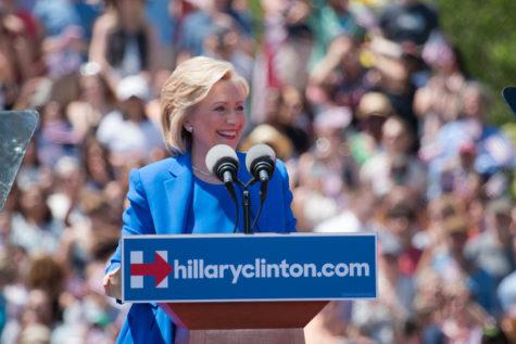 Hillary leads in Democratic debate