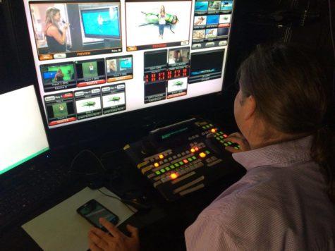 Production studio in the spotlight