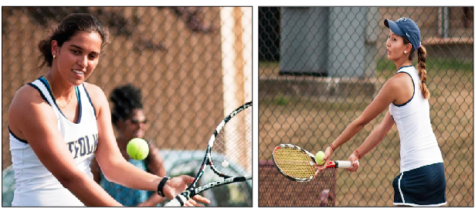 Lady Rams tennis players ace honors