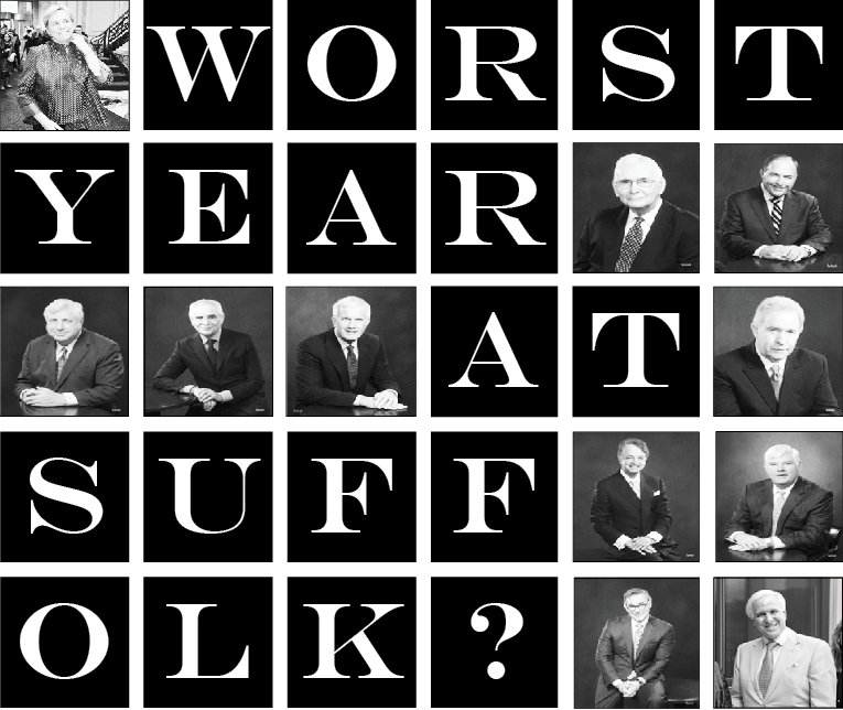 Worst year at Suffolk?