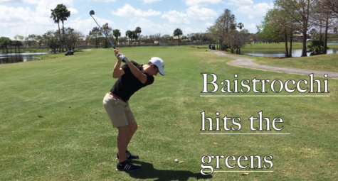 Baistrocchi hits the greens