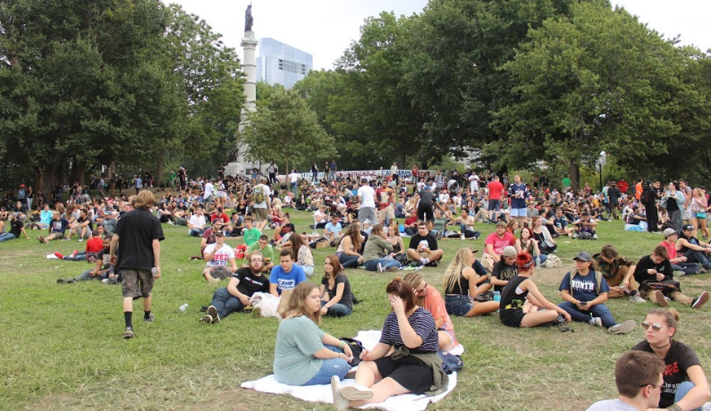 """The Boston Freedom Rally, commonly known as """"Hempfest"""" was established in 1989. This was its 27th year."""