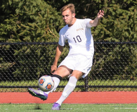 Men's soccer playing tough, and pulling together wins