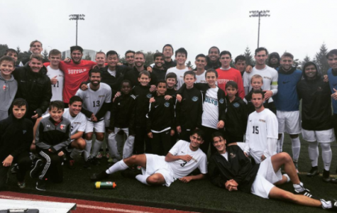 Suffolk men's soccer shuts out Lasell