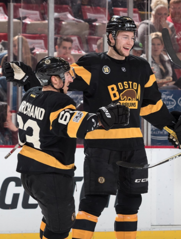 Bruins beat down on Red Wings, continues to fight for Stanley Cup Playoffs