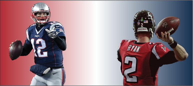 Patriots and Falcons kick-off Super Bowl LI