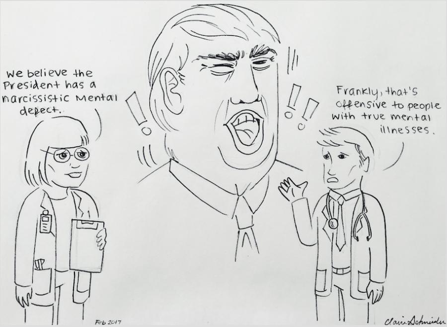 Claire Schneider/Political Cartoonist