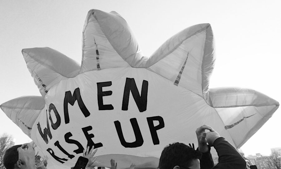 Marching through time: Women combat being silenced, again