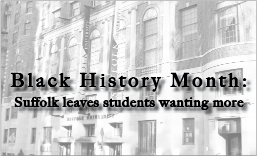 Black History Month: Suffolk leaves students wanting more