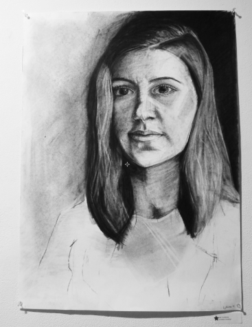 Portrait illustrated by Lydia Tourtellotte. Felicity Otterbein / Arts Editor