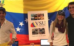Students send aid home to Venezuela