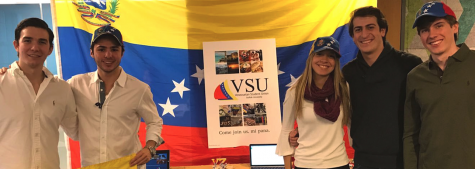 Students send aid home to Venezuela