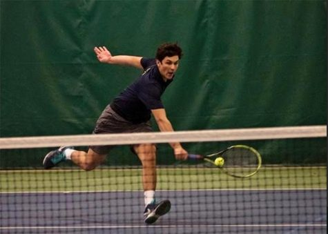 Men's Tennis dominates Emerson College