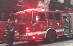 Electrical smoke sounds alarms in 73 Tremont