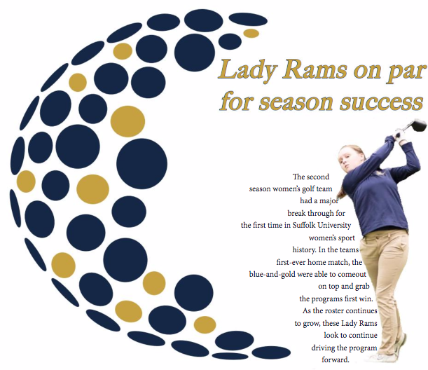 Lady Rams on par for season success