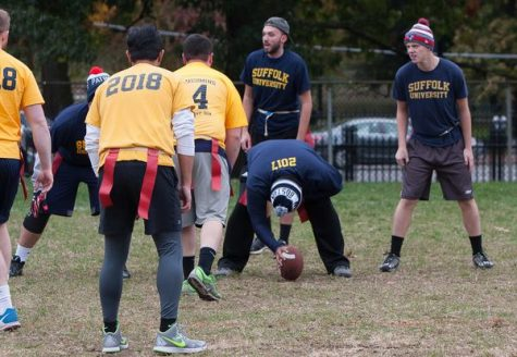 First down for Suffolk flag football