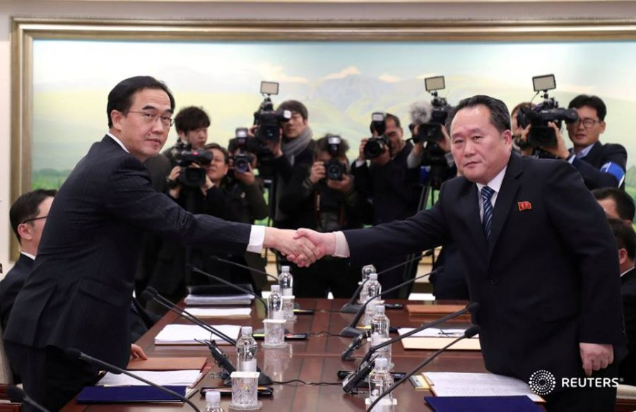 Olympics spark possible peace talks in Korea