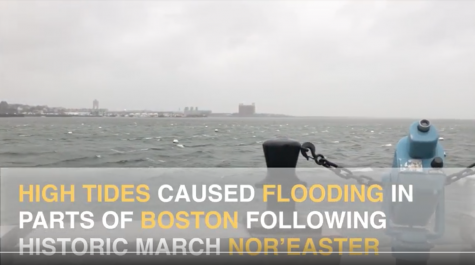 March nor'easter brings tidal surges to flood-prone areas of Boston