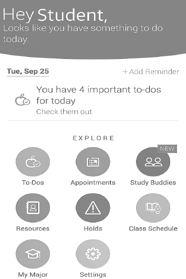 Updated App Built to Guide Students