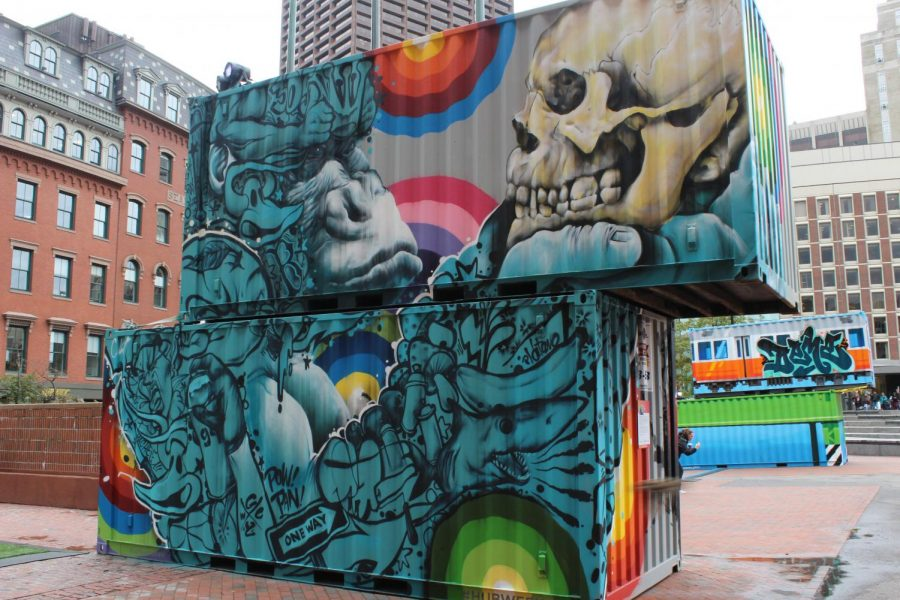HUBWeek Walls adds color to City Hall