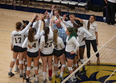 New women's volleyball coach looks to push for playoffs