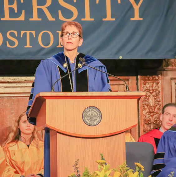 Marisa Kelly inaugurated as Suffolk's 11th president