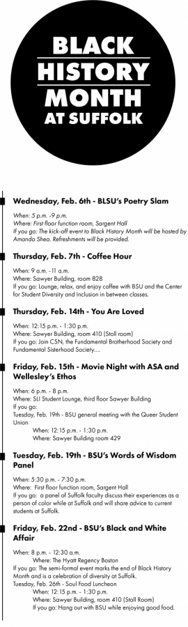 'Black History Month goes beyond February' says students, faculty, staff