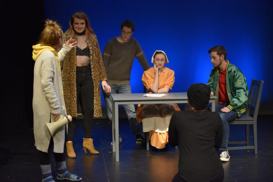 Suffolk students debut three original plays at annual Spring Showcase