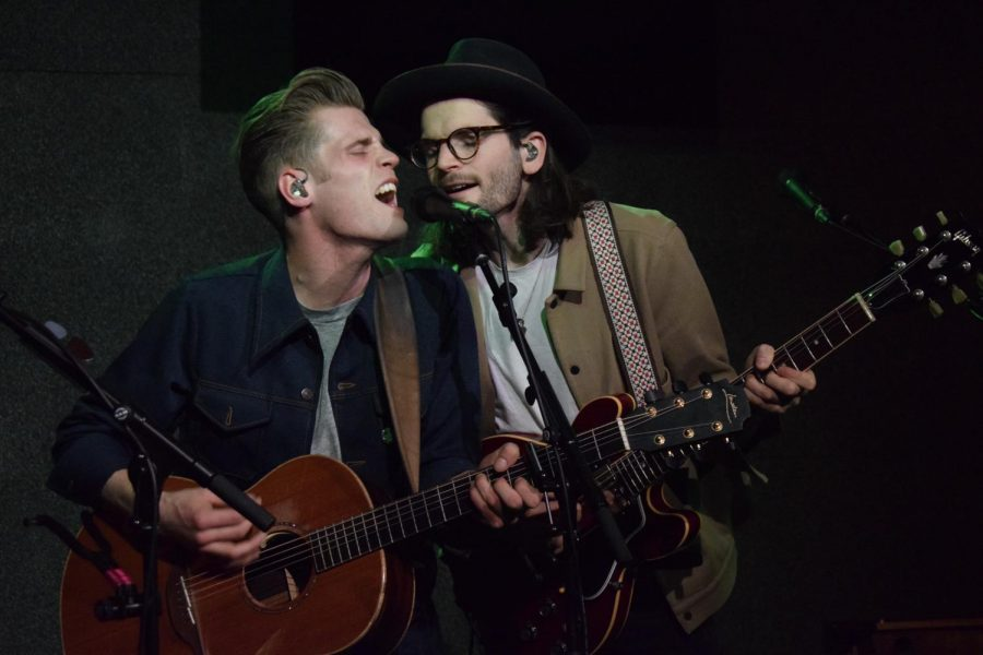 Irish+folk+duo+Hudson+Taylor+returns+to+Boston+for+enthralling+show+at+City+Winery