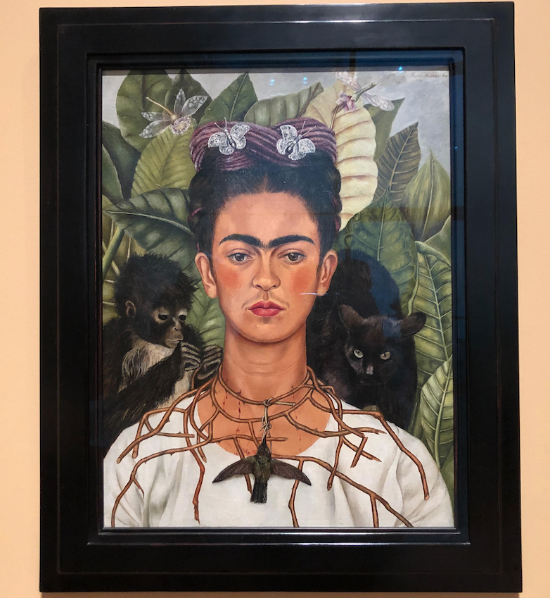 +%E2%80%9CSelf-Portrait+with+Hummingbird+Necklace%E2%80%9D+%281940%29+by+Frida+Kahlo+