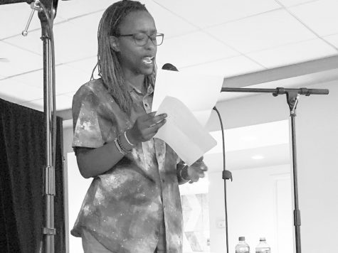 Spoken poet 'FreeQuency' shares poems on Black identity