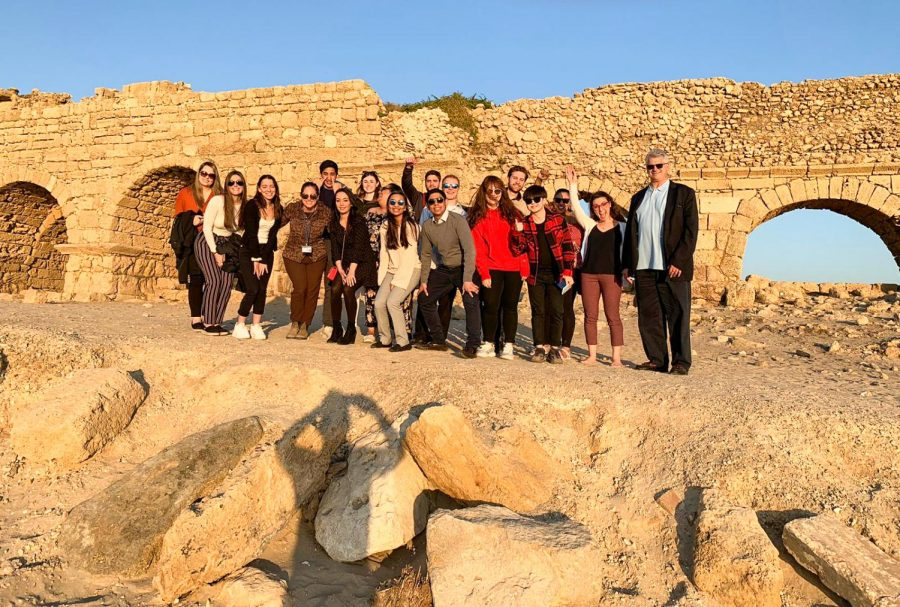 Global+Travel+Seminar+students+visit+Israel