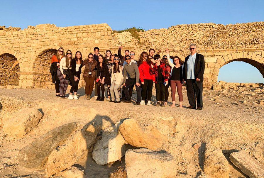 Global Travel Seminar students visit Israel