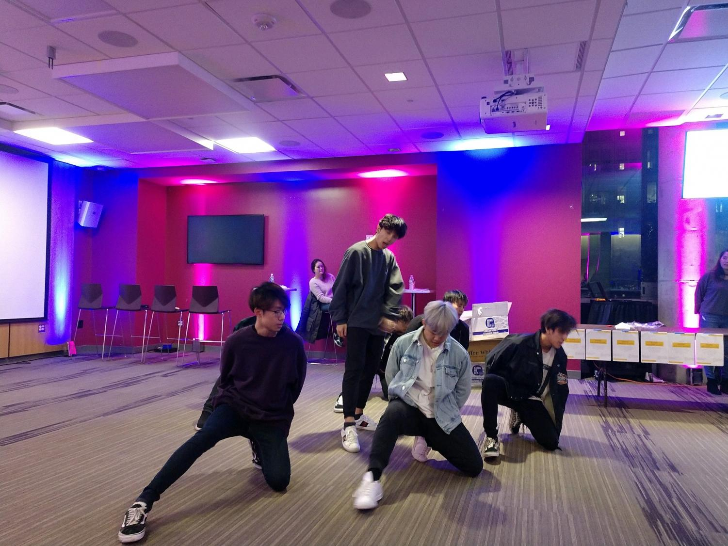 East Side Elements K-pop dance group performs at Asia Night